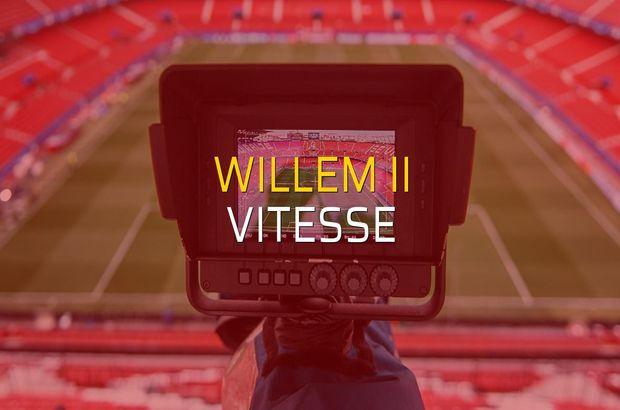 Maç sona erdi: Willem II: 1 - Vitesse:3