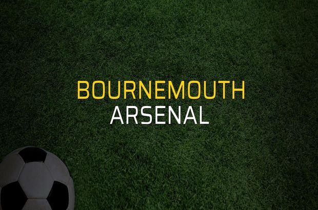 Bournemouth: 1 - Arsenal: 2 (Maç sona erdi)