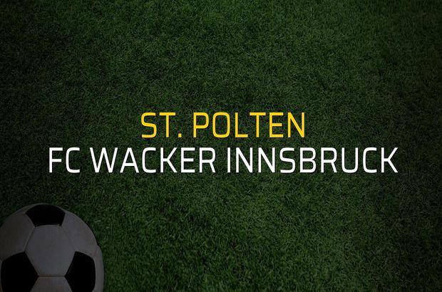 St. Polten: 2 - FC Wacker Innsbruck: 0