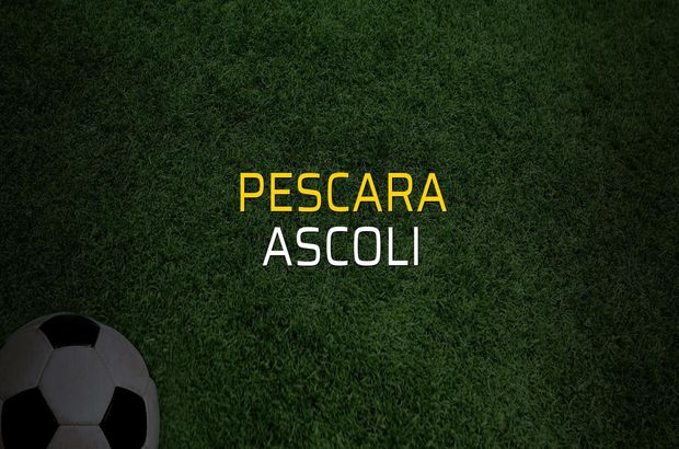 Pescara: 1 - Ascoli: 1 (Maç sonucu)