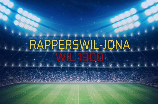 Maç sona erdi: Rapperswil-Jona: 0 - Wil 1900:1