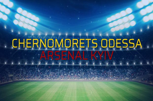 Chernomorets Odessa: 0 - Arsenal Kyiv: 0