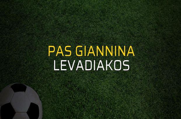 Pas Giannina: 1 - Levadiakos: 0 (Maç sonucu)