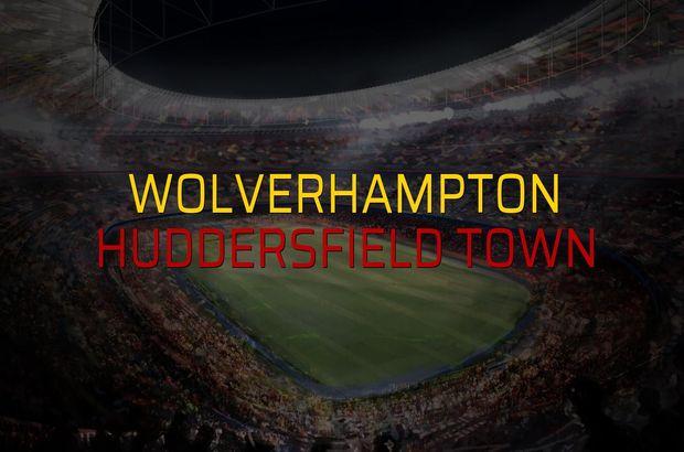 Wolverhampton: 0 - Huddersfield Town: 1 (Maç sonucu)