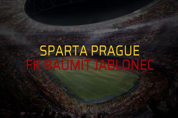 Sparta Prague: 0 - FK Baumit Jablonec: 0