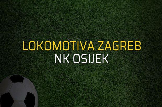 Lokomotiva Zagreb: 2 - NK Osijek: 2 (Maç sonucu)