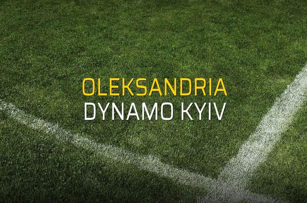 Oleksandria: 2 - Dynamo Kyiv: 1