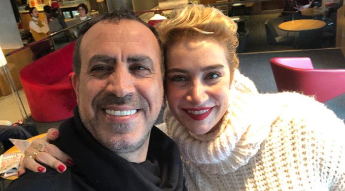 Sıla günler sonra ilk kez Haluk Levent'le çektirdiği bu selfie ile ortaya çıktı.