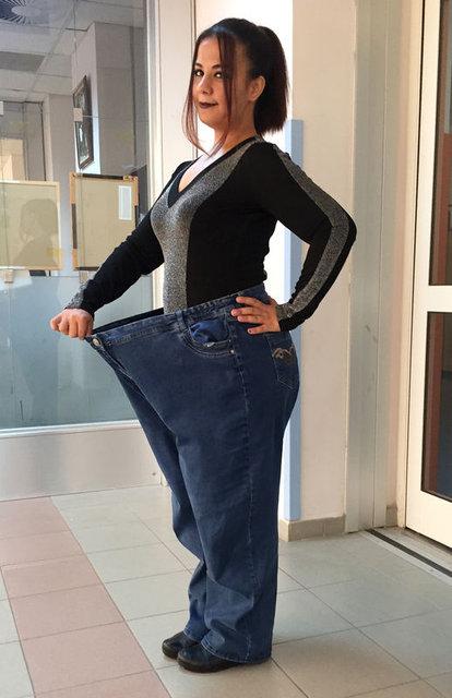 Beste Eylül Aydemir 15 ayda 95 kilo verdi!