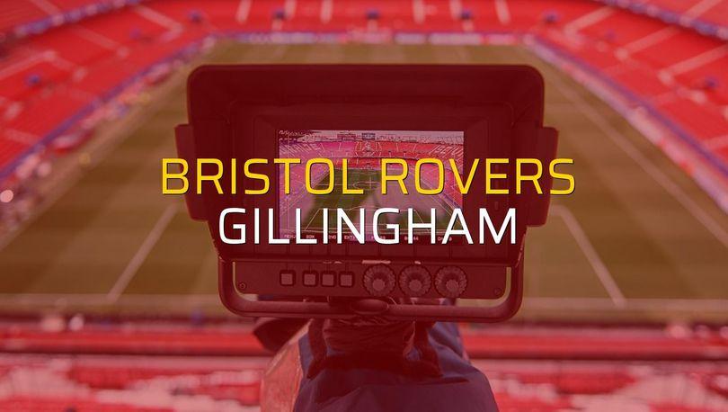 Bristol Rovers - Gillingham düellosu