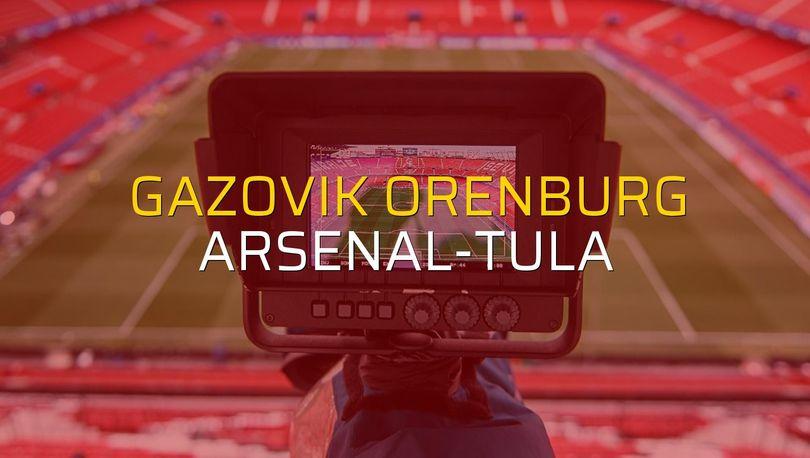 Gazovik Orenburg - Arsenal-Tula düellosu