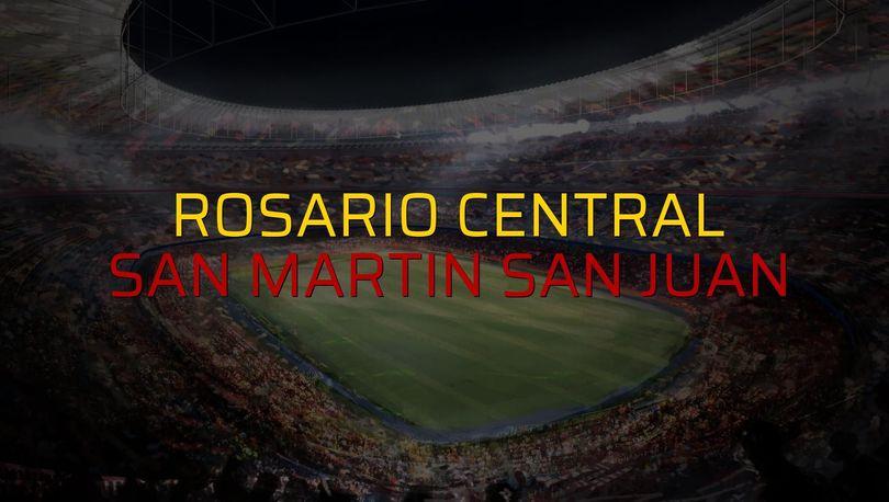 Maç sona erdi: Rosario Central: 1 - San Martin San Juan:0