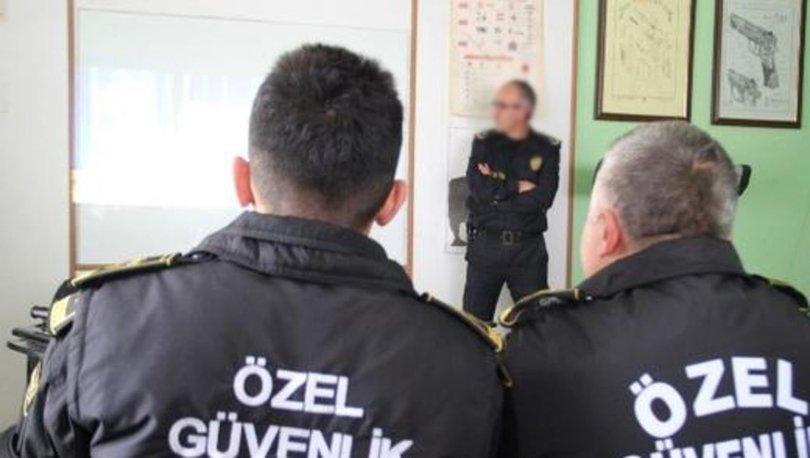 Ankara polisinden üniversitedeki güvenlikçilere eğitim