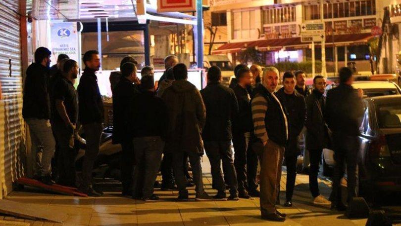 UBER ve taksi şoförleri arasında yaşanan olaylı gece, kameralara yansıdı