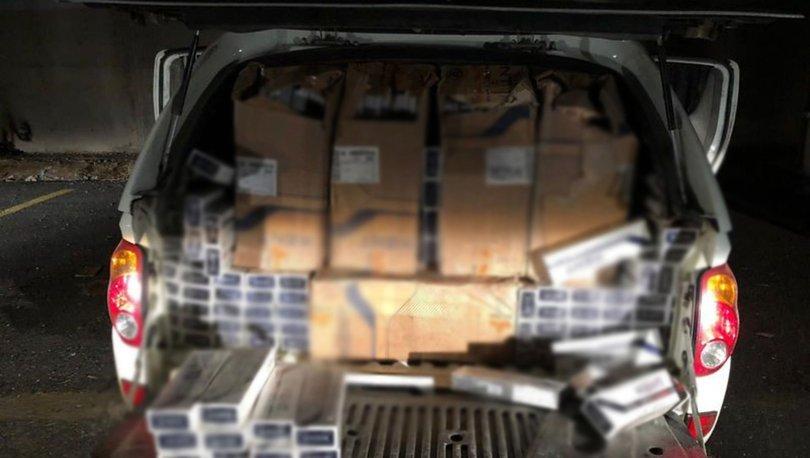 Van'da kaçak sigara operasyonu: 20 bin paket ele geçirildi