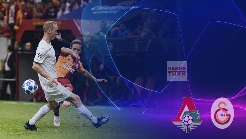 Lokomotiv Moskova Galatasaray Şampiyonlar Ligi maçı ne zaman saat kaçta hangi kanalda 82