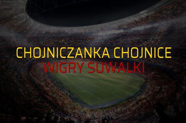 Maç sona erdi: Chojniczanka Chojnice: 3 - Wigry Suwalki:1