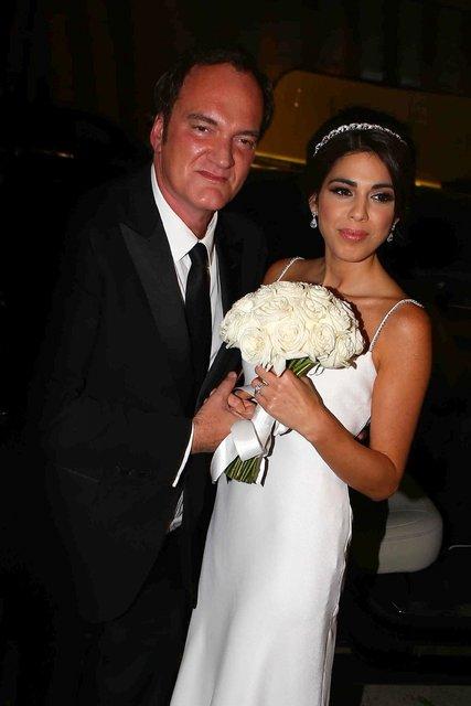Ünlü yönetmen Quentin Tarantino ilk evliliğini yaptı - Magazin haberleri