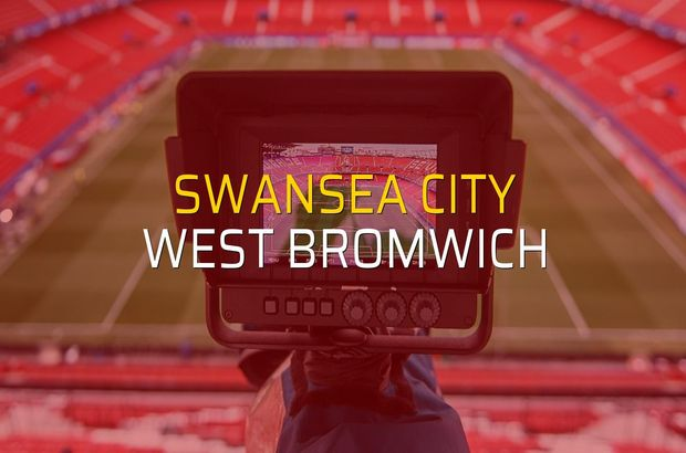 Maç sona erdi: Swansea City: 1 - West Bromwich:2