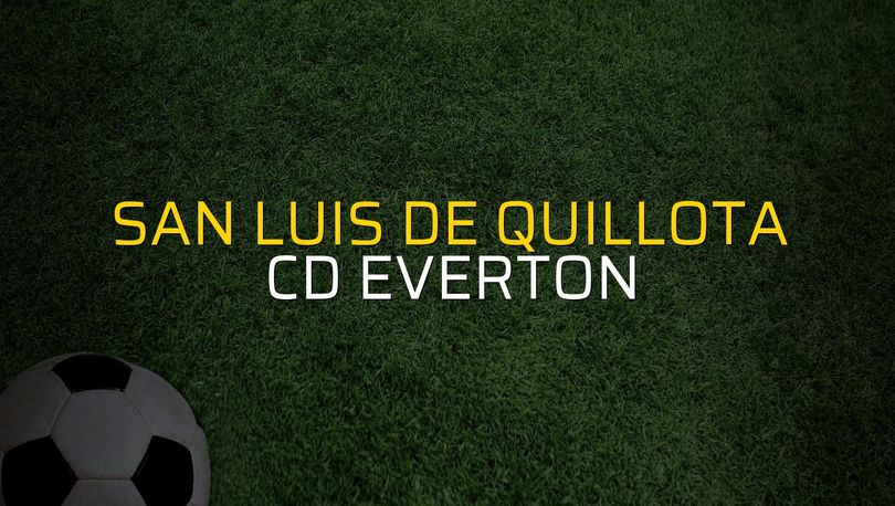 Maç sona erdi: San Luis De Quillota: 1 - CD Everton:2