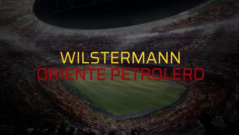 Wilstermann: 1 - Oriente Petrolero: 2 (Maç sonucu)