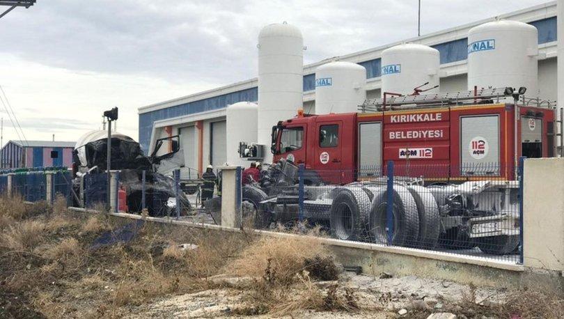 SON DAKİKA:Kırıkkale OSB'de patlama: Ölü ve yaralılar var!