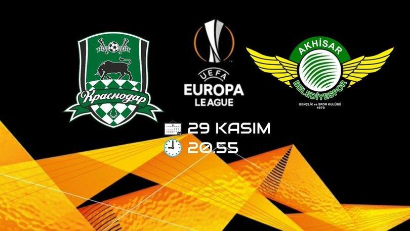 Krasnodar - Akhisarspor