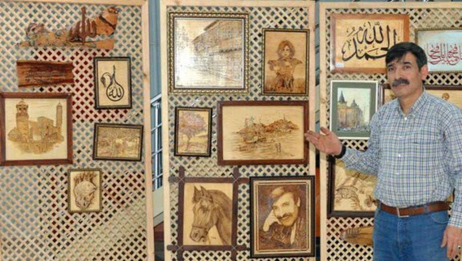 40 yılda 5 sergi açtı, 1 tane resim satamadı