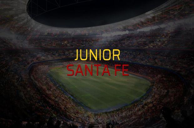 Junior: 1 - Santa Fe: 0