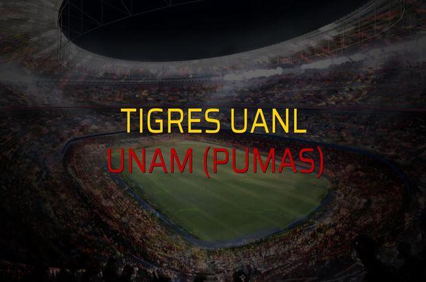 Tigres UANL: 2 - UNAM (Pumas): 1 (Maç sonucu)
