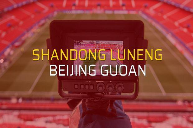 Shandong Luneng - Beijing Guoan maçı heyecanı
