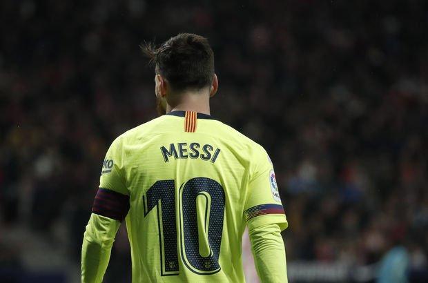 Haftanın futbolcusu Messi