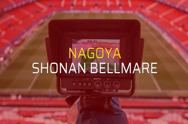 Nagoya - Shonan Bellmare rakamlar