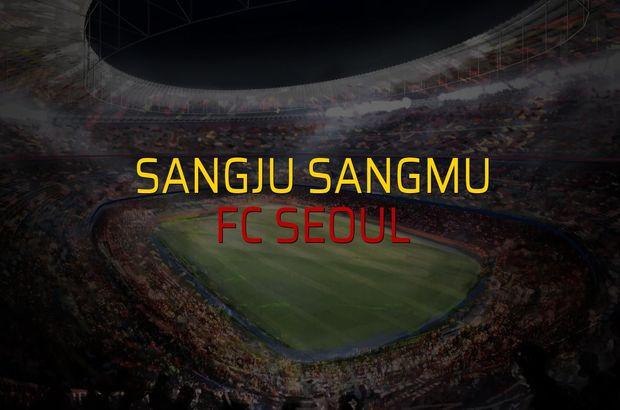 Sangju Sangmu - FC Seoul maçı heyecanı