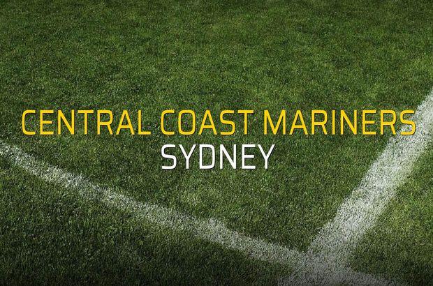 Central Coast Mariners - Sydney maçı ne zaman?