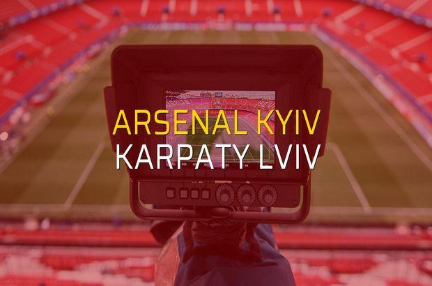 Arsenal Kyiv - Karpaty Lviv rakamlar