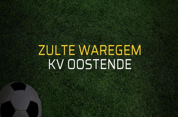 Zulte Waregem - KV Oostende maç önü