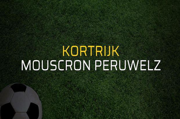 Kortrijk - Mouscron Peruwelz sahaya çıkıyor