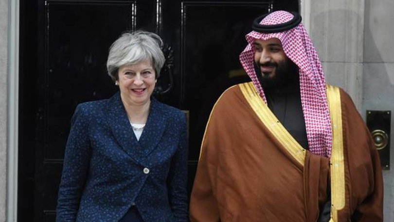 Theresa May'den Suudi Arabistan'a