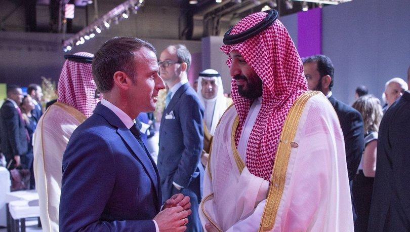 Macron'dan Suudi Prense: Beni hiç dinlemiyorsun…