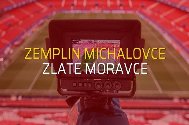 Zemplin Michalovce: 1 - Zlate Moravce: 0 (Maç sonucu)
