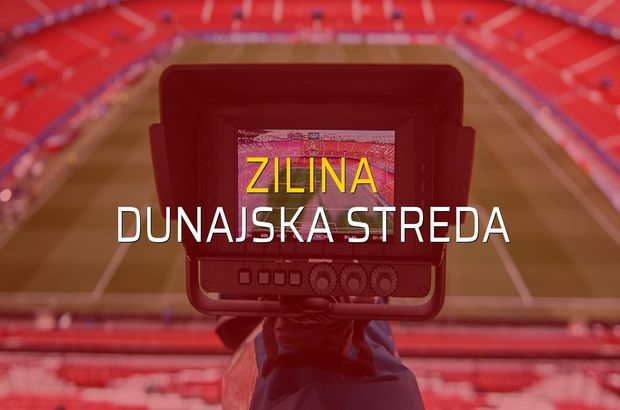Maç sona erdi: Zilina: 1 - Dunajska Streda:2