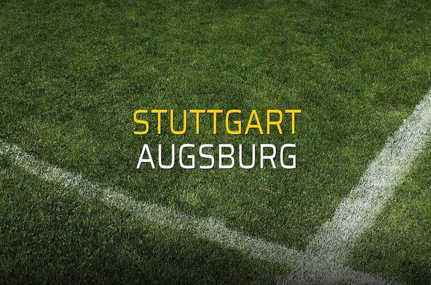 Maç sona erdi: Stuttgart: 1 - Augsburg:0