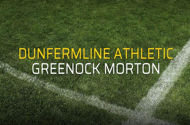 Maç sona erdi: Dunfermline Athletic: 2 - Greenock Morton:0