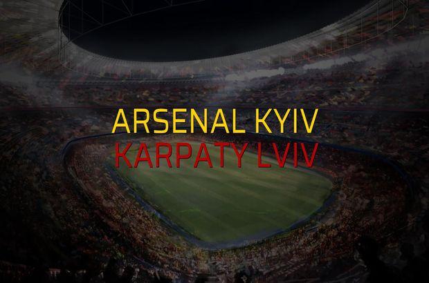 Maç sona erdi: Arsenal Kyiv: 1 - Karpaty Lviv:1