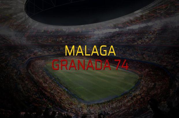 Maç sona erdi: Malaga: 0 - Granada 74:1