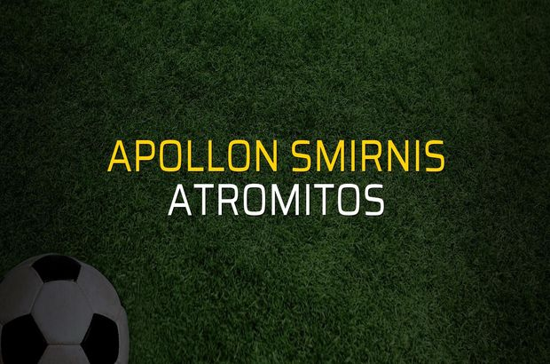Apollon Smirnis: 1 - Atromitos: 1