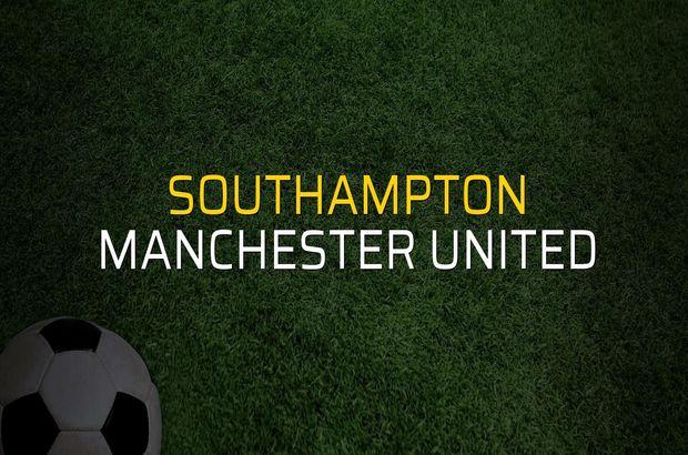 Southampton: 2 - Manchester United: 2