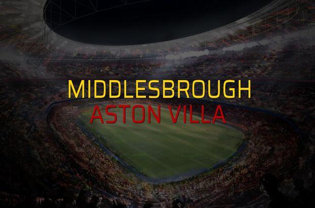 Middlesbrough: 0 - Aston Villa: 3