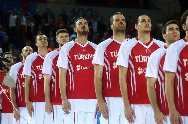 A Milli Basketbol Takımı Karadağ